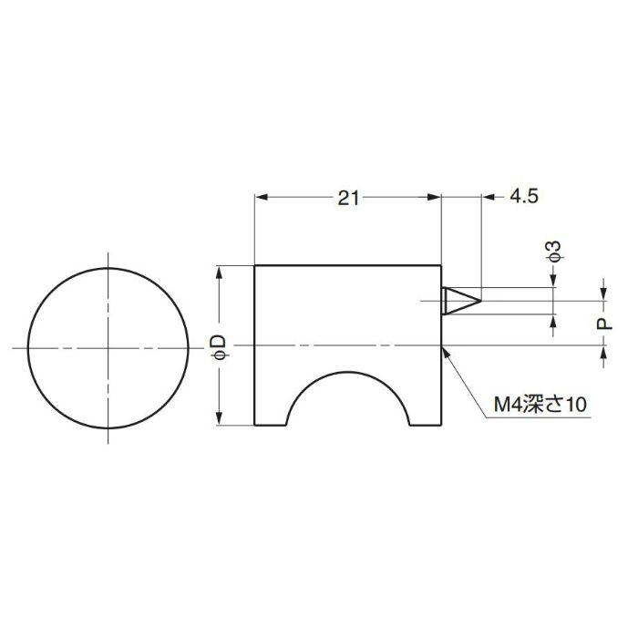 ランプ印つまみMRB型 MRB-24 100-010-722
