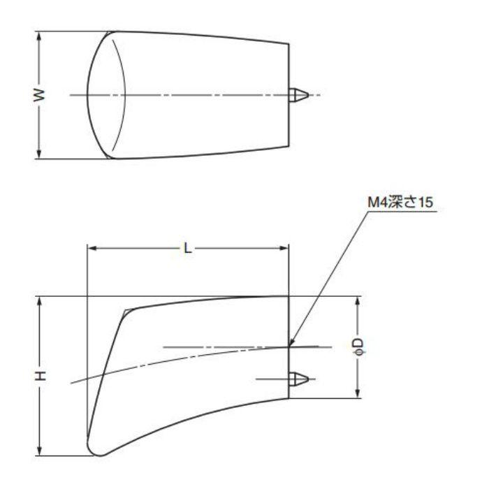 ランプ印たまづさつまみTMT型 TMT-16 100-010-730