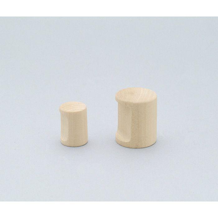 ランプ印白木丸棒つまみSMRB型 SMRB20 100-012-007