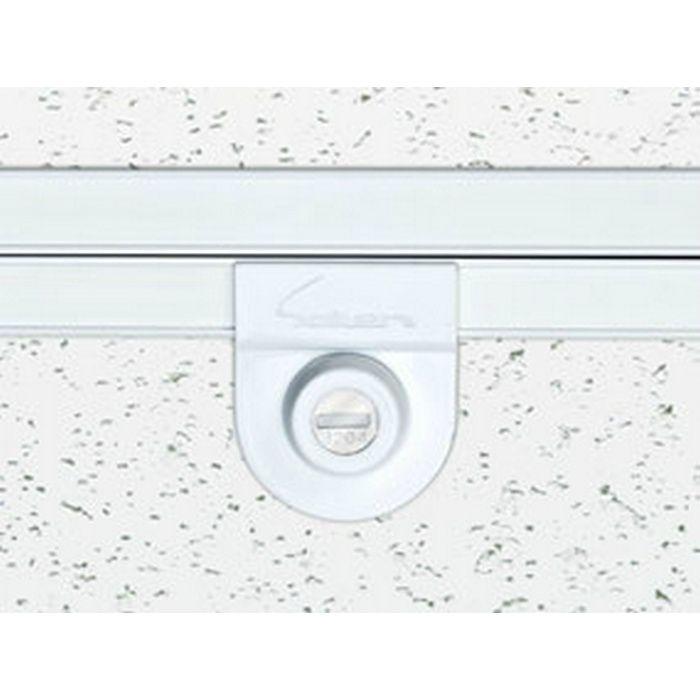 62756 ホワイトアルマイト2 アルミ Superリーフ306WA吊タイプカギ付 天井点検口 額縁タイプ 303mm×606mm