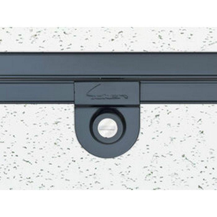 62628 カスタムブラック アルミ Superリーフ303CBカギ付 天井点検口 額縁タイプ