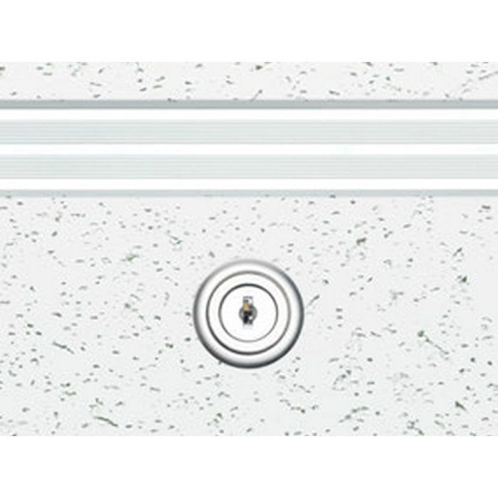 62768 ホワイトアルマイト2 アルミ リーフ気密SS-303K・WA吊タイプ 天井点検口 気密タイプ カギ付