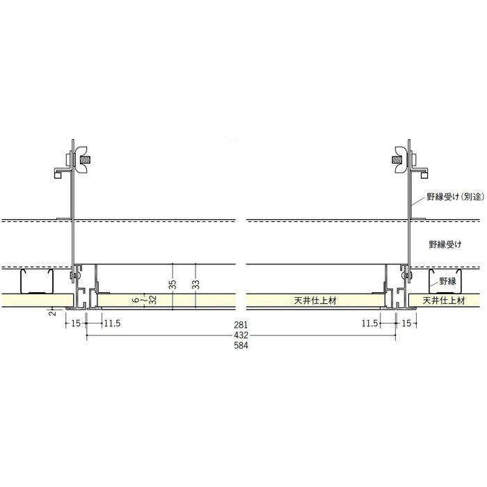 62696 シルバー アルミ ラウンドリーフ606吊り金具タイプ 天井点検口 特殊タイプ