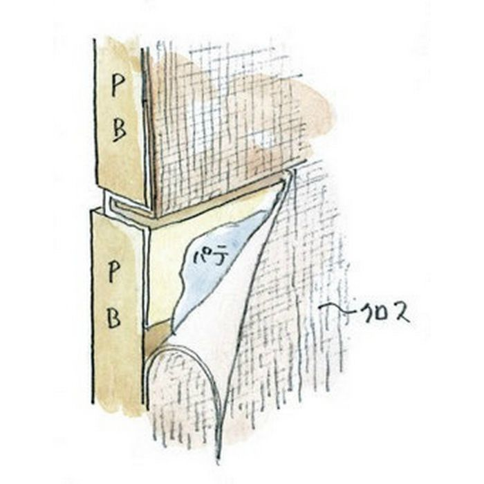 ハット目地2×5 ミルキー 3m 35215-2
