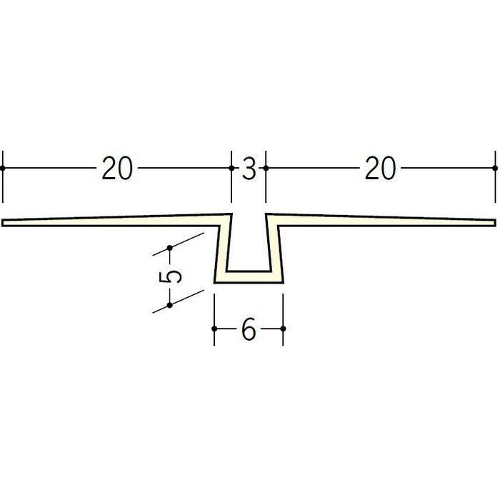 ハット目地3×5 ミルキー 3m 35198-2