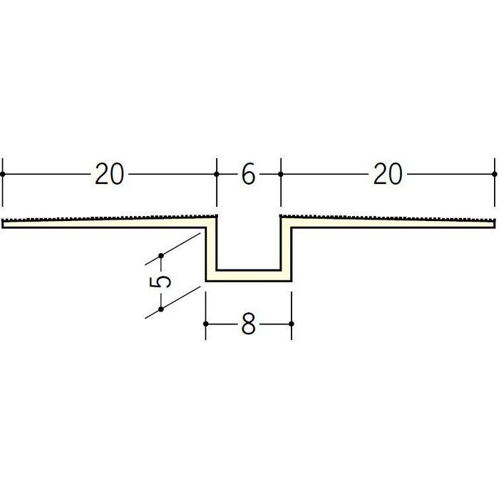 ハット目地6×5 ミルキー 3m 35221-2