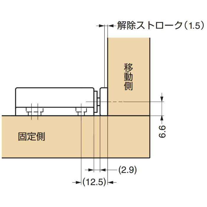 プッシュラッチ MC-28 140-059-203