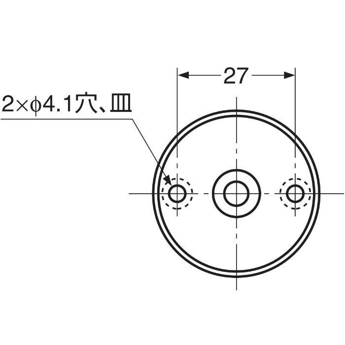 ランプ印ステンレス鋼製ロータリーフック RF-50S RF-50S 110-020-082