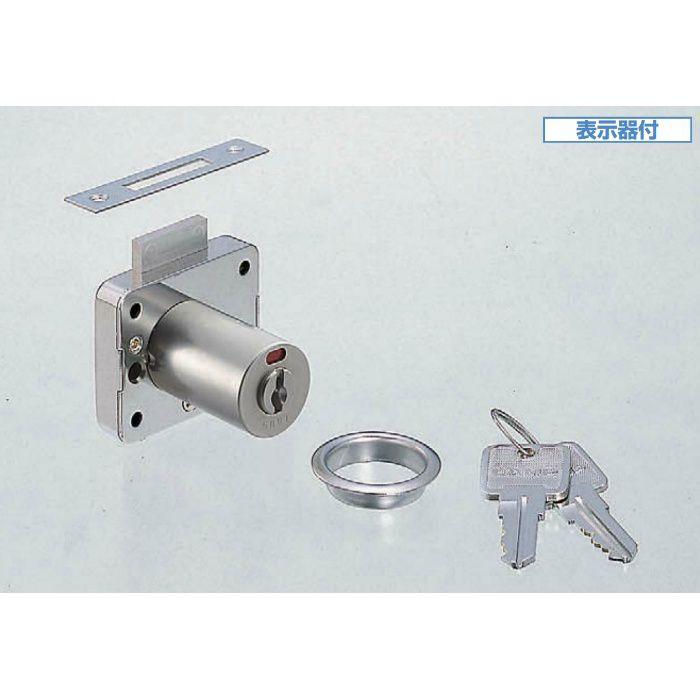ランプ印面付シリンダー表示錠2200型(同番)トータルロック2200シリーズ 2200-24-D 150-060-412