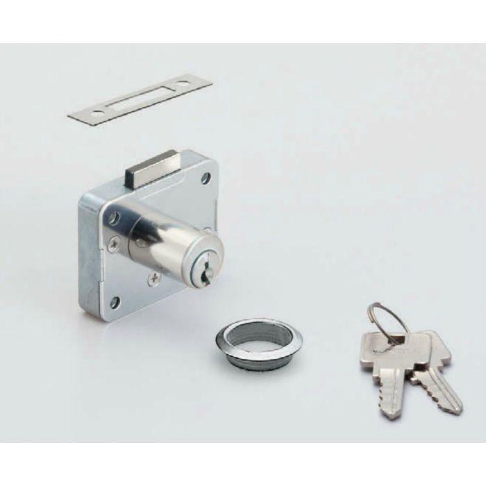 ランプ印面付シリンダー錠2650型(別番) 2650-30-DN-B 150-022-067
