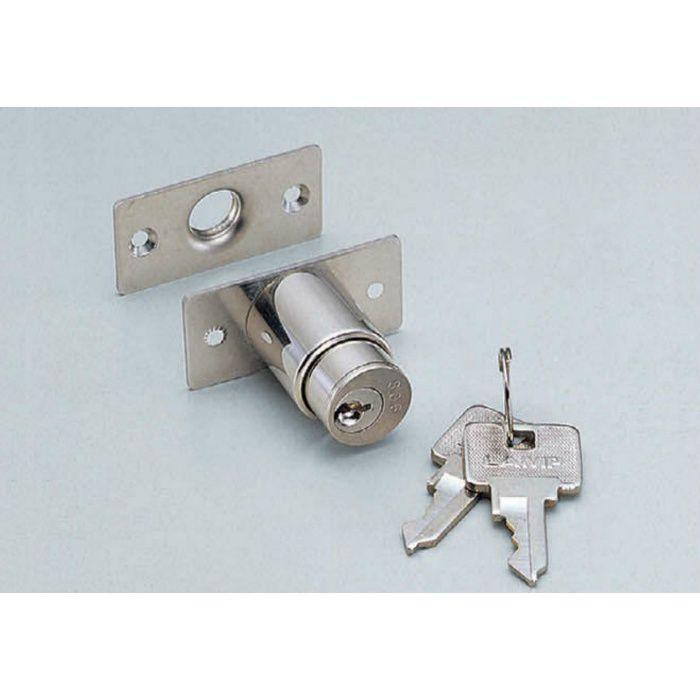 ランプ印シリンダープッシュ錠2100M型(同番) 2100M-D 150-001-044