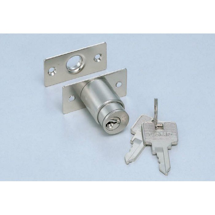 ランプ印シリンダープッシュ錠2110M型(別番) 2110M-B 150-060-889