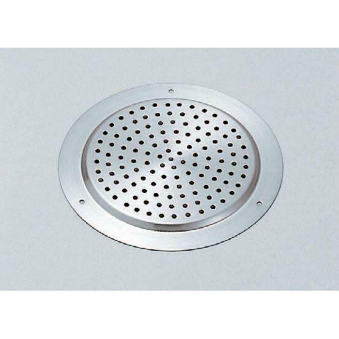 ランプ印 ステンレス鋼製空気孔 面付タイプ (釘打) AST型 AST-100 210-030-047