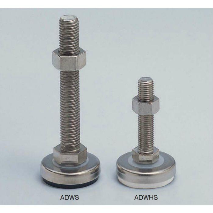 ランプ印 ステンレス鋼製 アジャスター ADWHS型 ADWHS60-16-100 200-140-627
