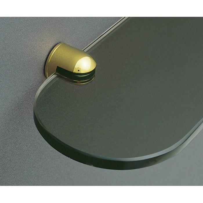 ランプ印ピヴォガラス棚受SPV-G01 SPV-G01-GP 1セット 120-173-651