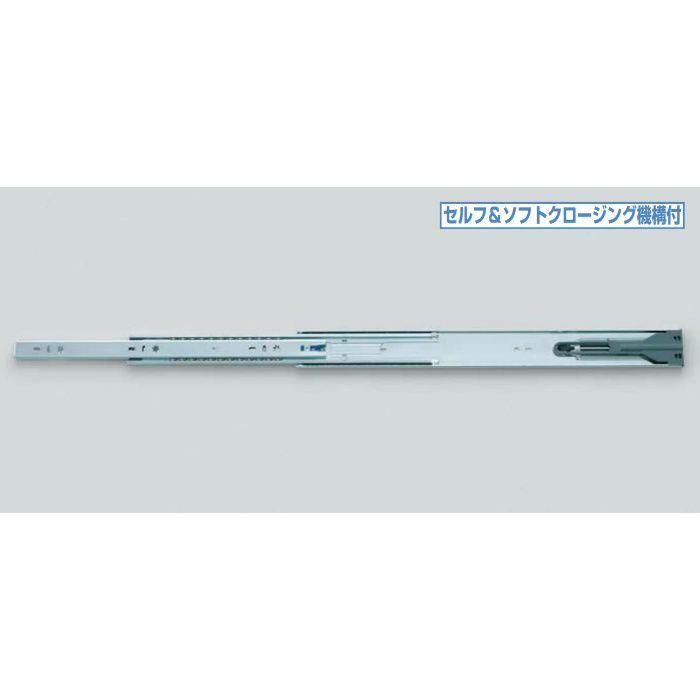 スライドレール L52145 セルフ&ソフトクロージング機構付 L52145-610 1セット 190-012-986