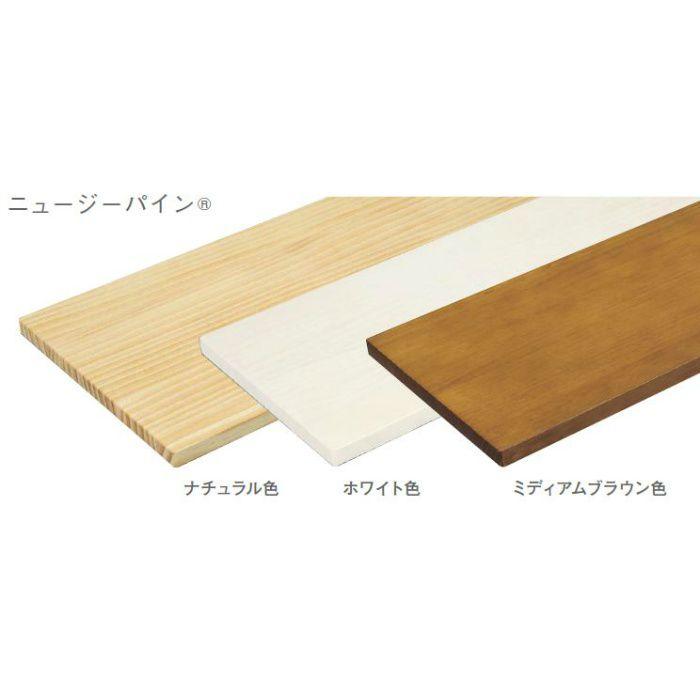 棚板 ニュージーパイン MTR2400N-C1I-WH ホワイト 18mm厚 450mm×2400mm 一本芯