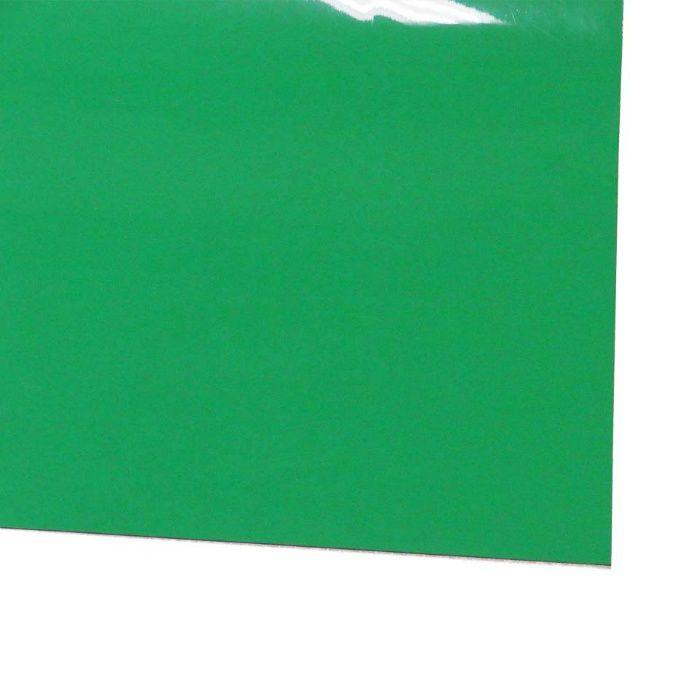 ビニール長マット 平板 ライトグリーン 1.5mm×910mm×20m