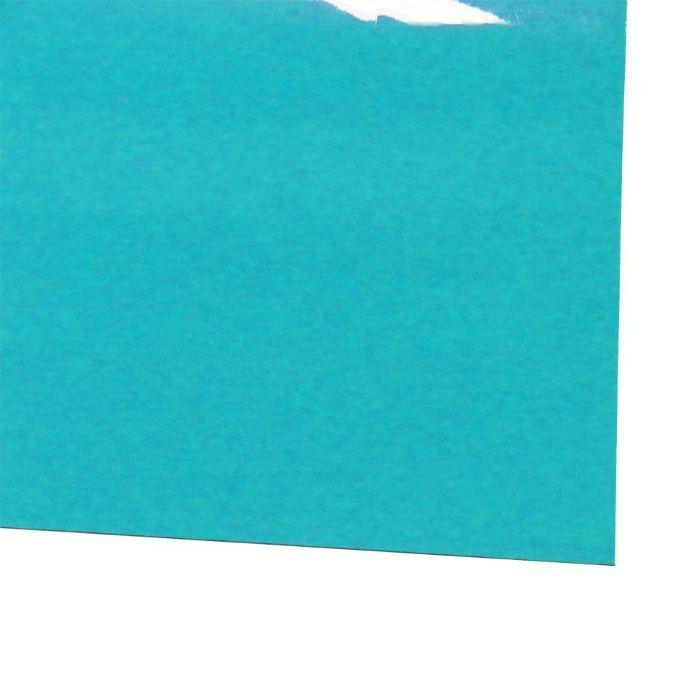 ビニール長マット 平板 ライトブルー 1.5mm×910mm×20m