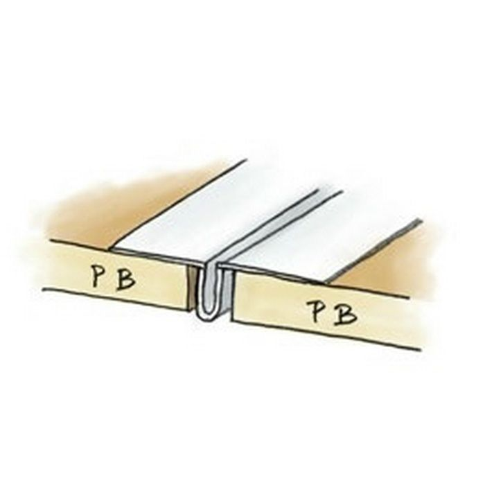 SP-6 穴あき+テープ付 ホワイト 2.5m 38030-1