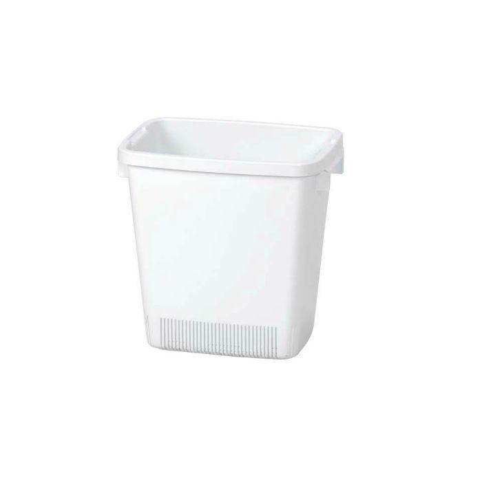 厨房ペール用水切りかご #45 ホワイト 32L