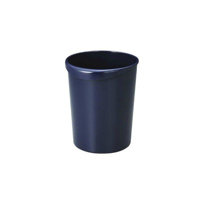 くず入れ 丸8L ブルー 40個/ケース