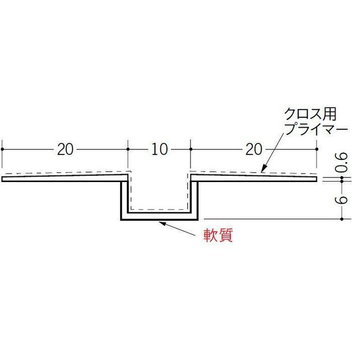 SP-10 クロス用プライマー付 ホワイト 2.5m 37164-1