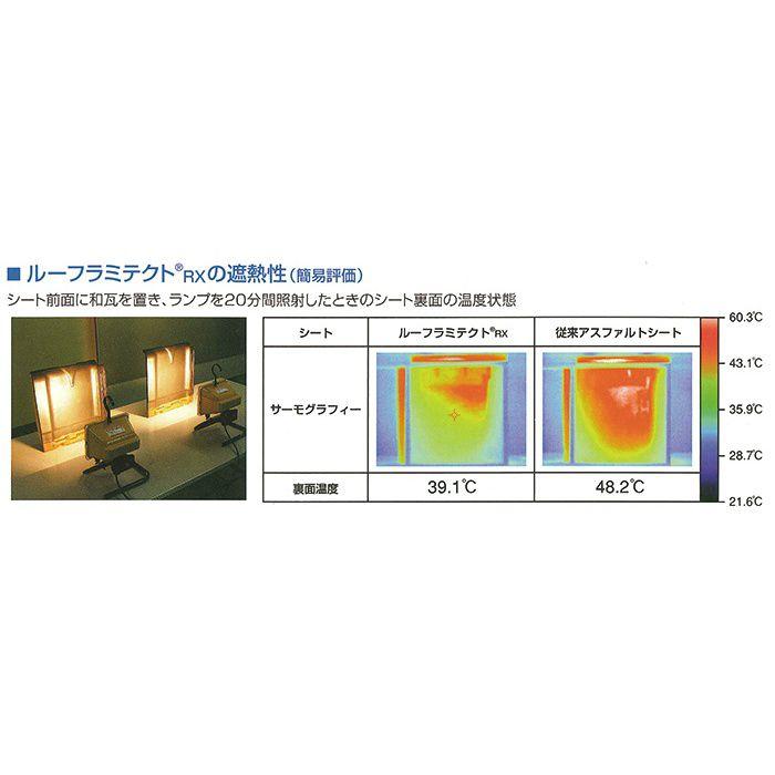 【ロット品】 ルーフラミテクトRX 幅 1000mm×40m巻 2本/セット