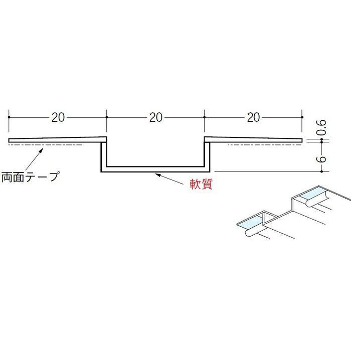 SP-20 テープ付 ホワイト 3m 34211-2