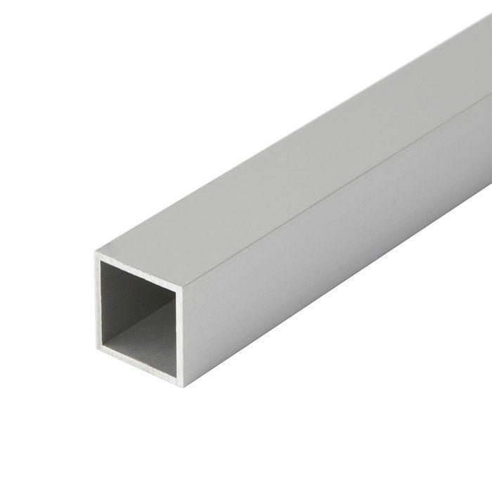 等辺角パイプ アルミ材 224-482 シルバー(AL)
