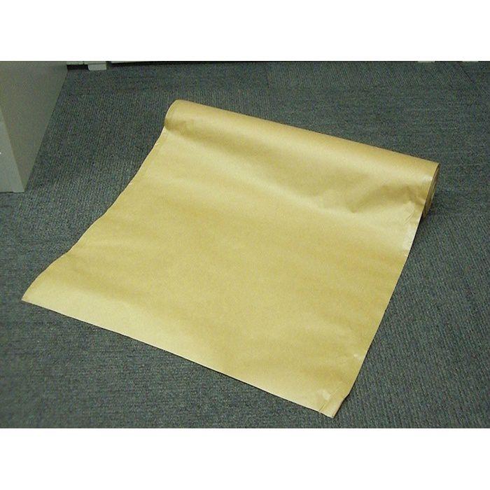 【ロット品】 柱養生紙 3.5~4寸 無地 約505mm×45m巻 3ケース/セット