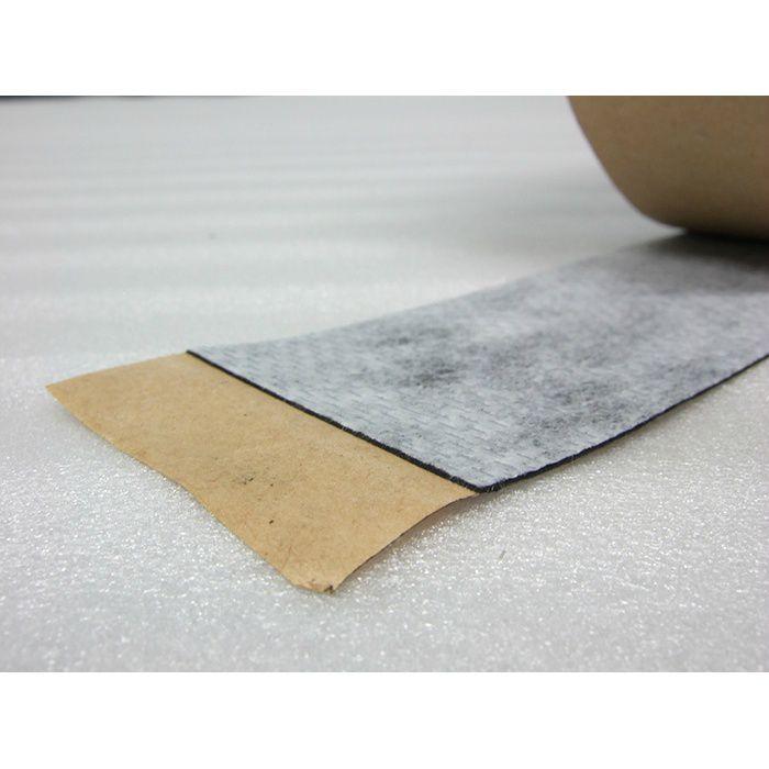 【ロット品】 ブチルテープ片面 #404 厚み 0.75mm×75mm×20m巻 3ケース/セット