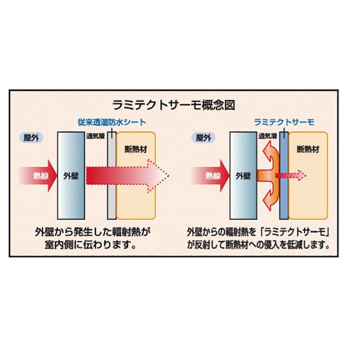 【小ロット品】 ラミテクトサーモ 幅 1000mm×50m巻 1本