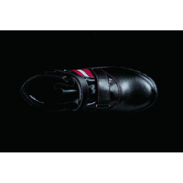 KZS-903 ブラック 23.0cm セーフティハーフ (静電・マジック)