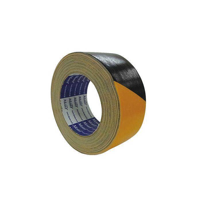 【小ロット品】 安全表示用布粘着テープ No.860 幅 50mm×25m巻 30巻/セット