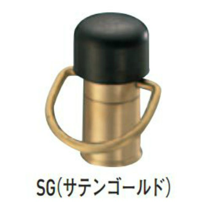 ポピー戸当り SG RB-45 サテンゴールド 6個/ケース