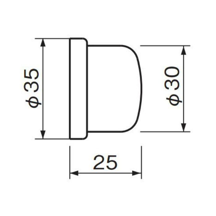 ウォールバンパー (磨きクリア) RB-34 金 20個/ケース