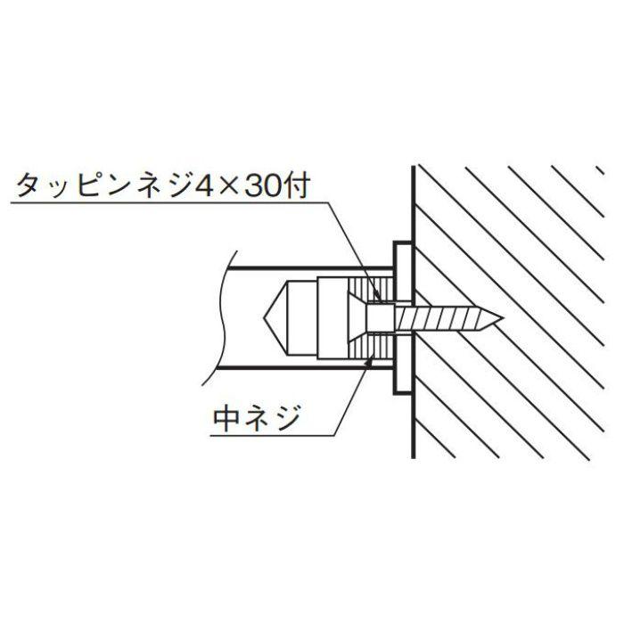 ラウンドフック 大 (磨きクローム) CB-14 金 20個/ケース