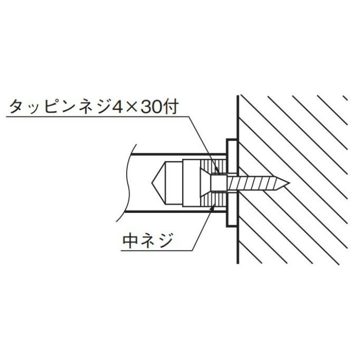 ラウンドフック 大 CB-14 ホワイト 20個/ケース
