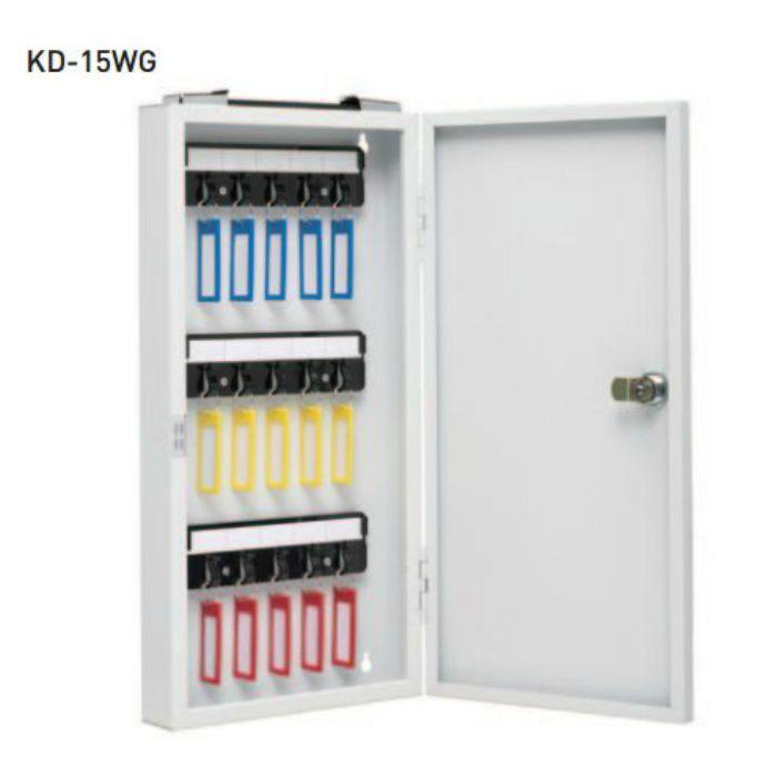 キーボックス KD-15WG ホワイトグレー 10台/ケース