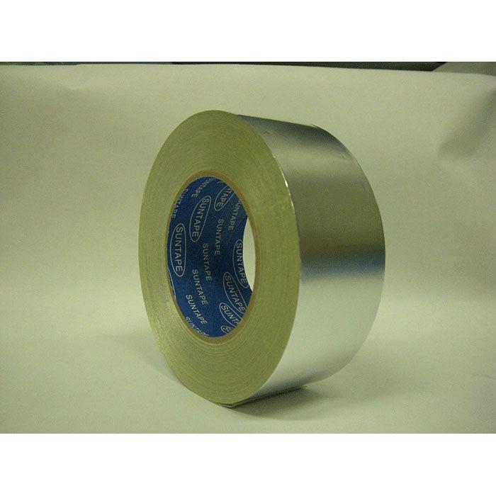 【ロット品】 アルミ箔粘着テープ ツヤ有 0.05mm×幅 75mm×50m巻 24巻/ケース
