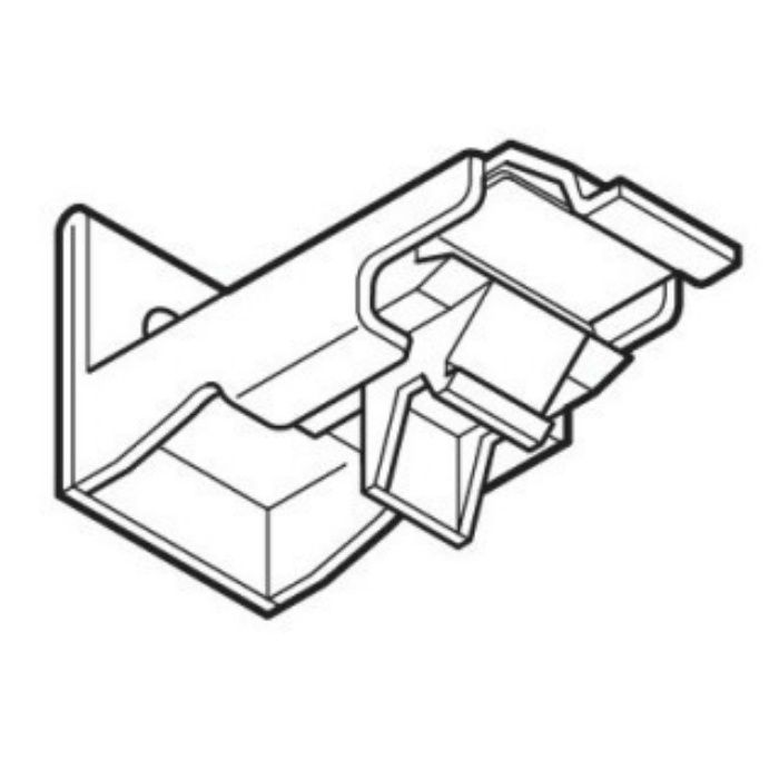 ネクスティ シングルブラケット ライトグレイン 30個/小箱