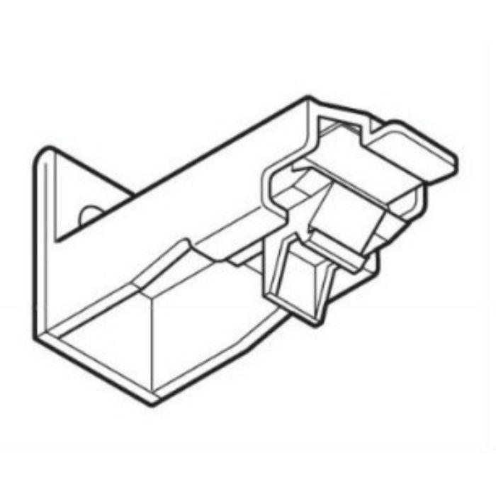 ネクスティ エキストラシングルブラケット プレーンホワイト 20個/小箱