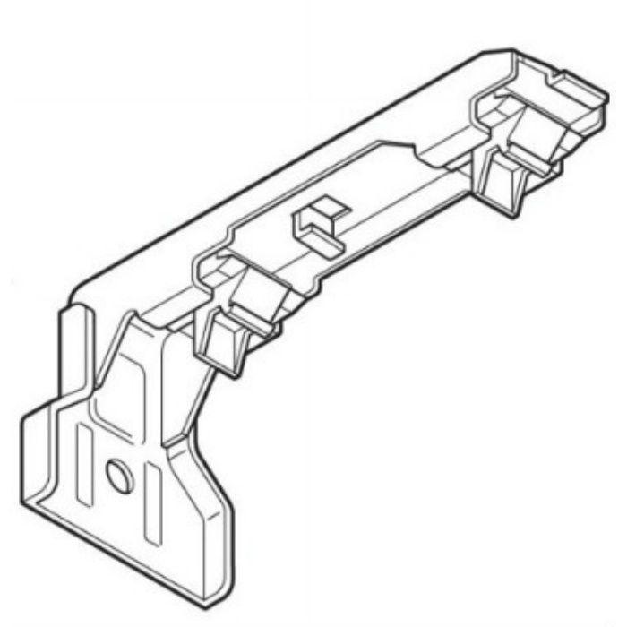 ネクスティ LTダブルブラケット パールグレー 20個/小箱