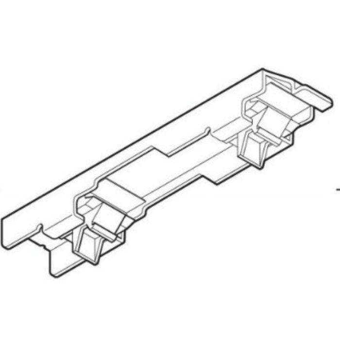 ネクスティ 天井付ダブルブラケット ミディアムグレイン 20個/小箱
