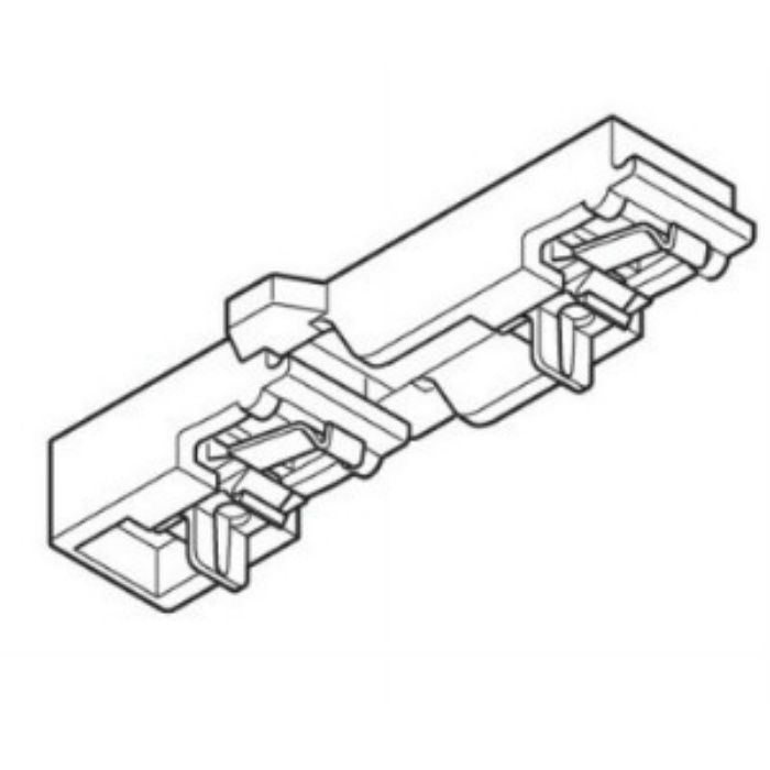 エリート 天井付ダブルブラケットⅡ ミディアムウッド 20個/小箱