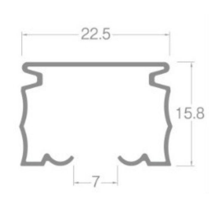 ニューデラック カーブレール スチールアンバー 180R 0.40m×0.40m