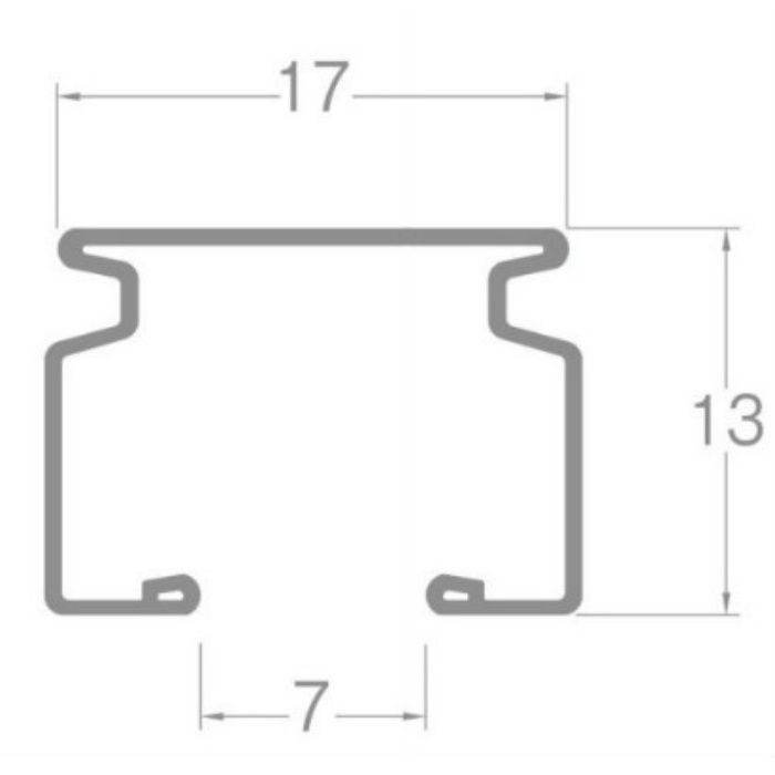 ウィンピア カーブレール スチールウォームホワイト 180R 1.00m×1.00m