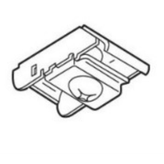 セルフィ ワンタッチ天井付シングルブラケット ナチュラル 50個/小箱