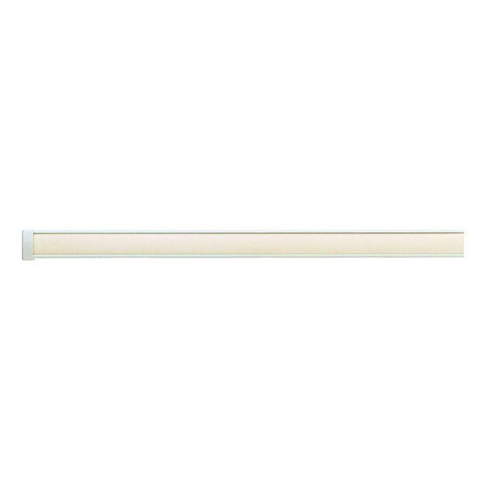 インテリアレールJ-1 レール・キャップセット ウォームホワイト2.00m 【セット品】